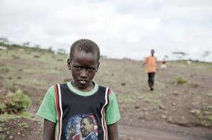 Amboseli Child Kilamanjaro Kenya Africa 0025 960x638