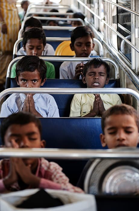 Education And Food Programme Mumbai India 0033