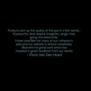 Floris Van Den Hoed Testimonial0014
