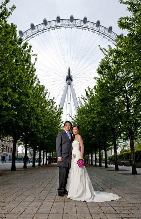 London Eye Wedding 0018
