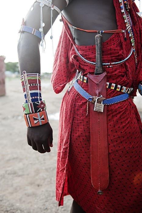 Maasai Warrior Belt Amboseli Kenya0006