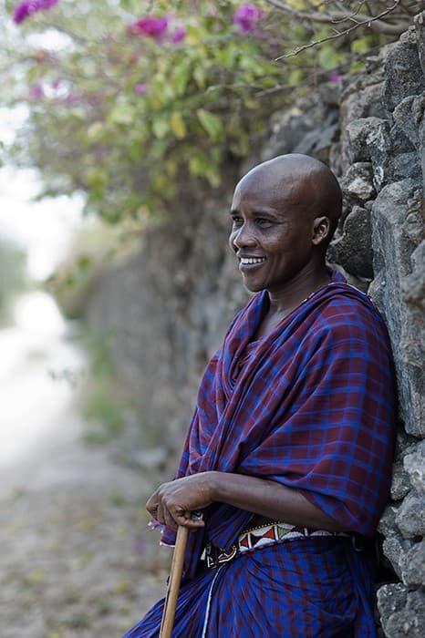 Maasai Warrior Mombasa Kenya 0024