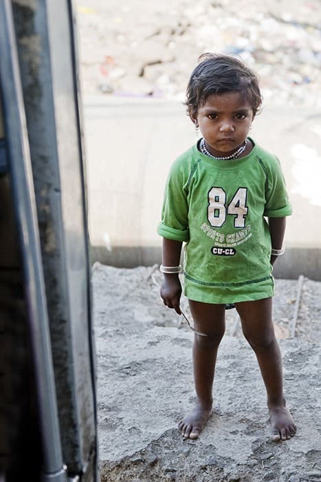 Mumbai Orphan Girl India0003