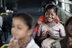 Praying Girl Vision Rescue Charity Mumbai India 0010 960x638