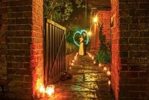 The Olde Bell Hurley Wedding 960x646