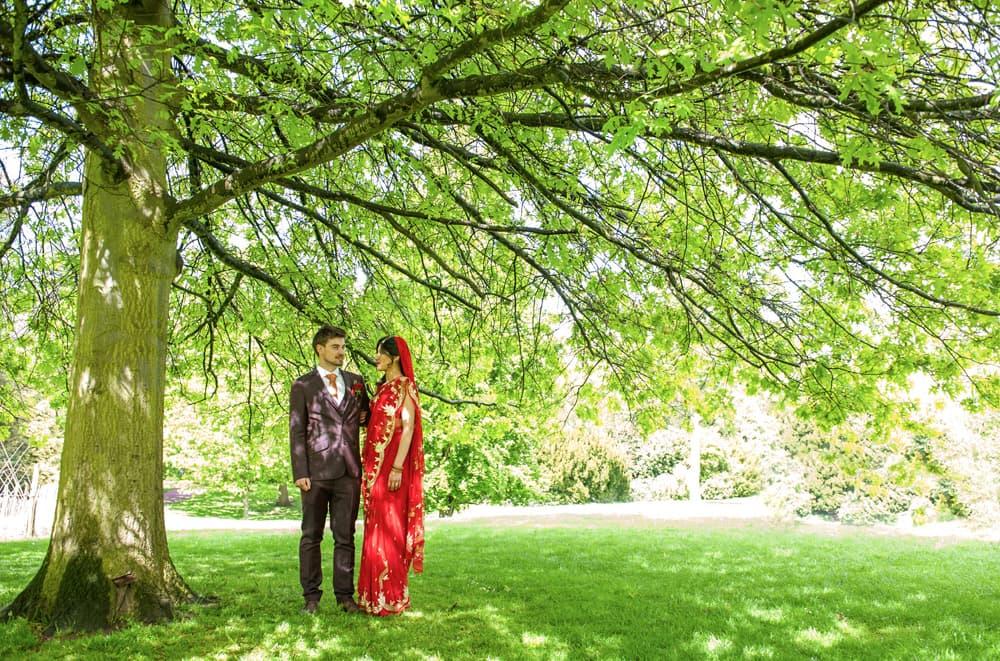 Rohini & Alex   Stephen's House & Gardens, Finchley