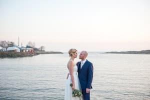 Finland Destination Wedding Suomenlinna Island Helsinki Finland Bride Groom Benjamin Wetherall Photography © 960x639