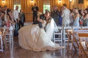 Gabriel Springs Austin Texas Wedding Bride Groom Ceremony Dance Benjamin Wetherall Photography © 960x637