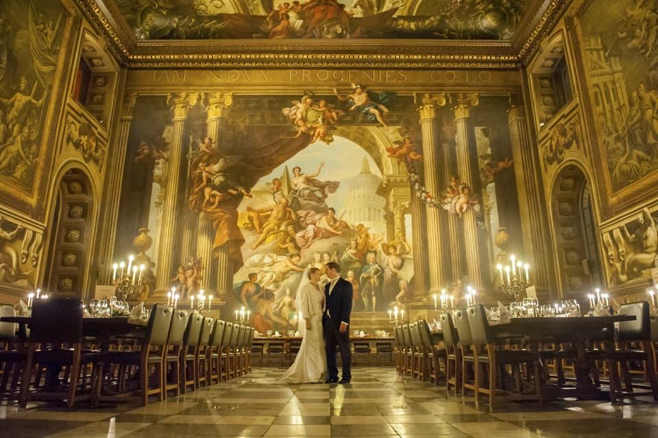 Steve & Lisa – Greenwich Royal Naval College