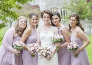Upwaltham Barn Wedding Bridesmaids Benjamin Wetherall Photography © 960x675