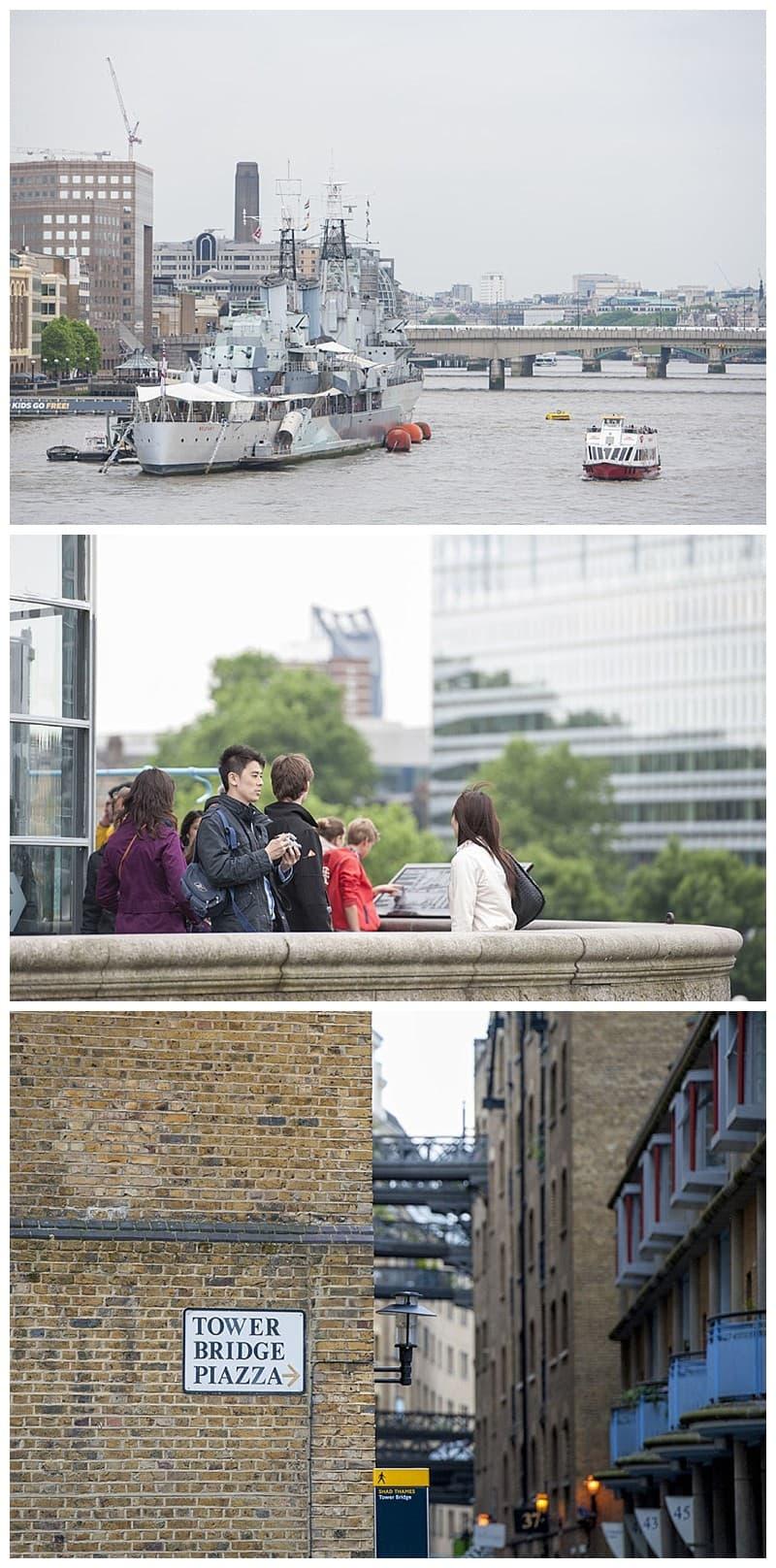 Kyle & Mandy Engagement Photoshoot, Tower Bridge, London, Benjamin Wetherall Photography0006