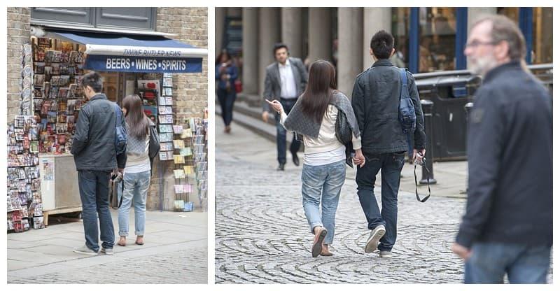 Kyle & Mandy Engagement Photoshoot, Tower Bridge, London, Benjamin Wetherall Photography0007