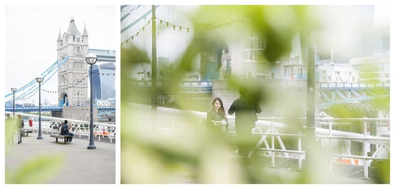 Kyle & Mandy Engagement Photoshoot, Tower Bridge, London, Benjamin Wetherall Photography0009