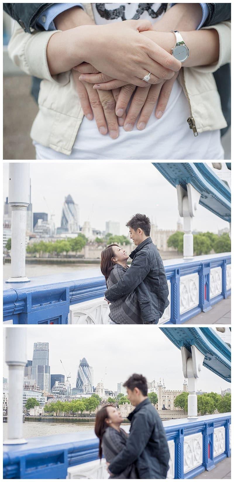 Kyle & Mandy Engagement Photoshoot, Tower Bridge, London, Benjamin Wetherall Photography0018