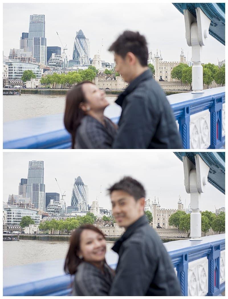 Kyle & Mandy Engagement Photoshoot, Tower Bridge, London, Benjamin Wetherall Photography0019