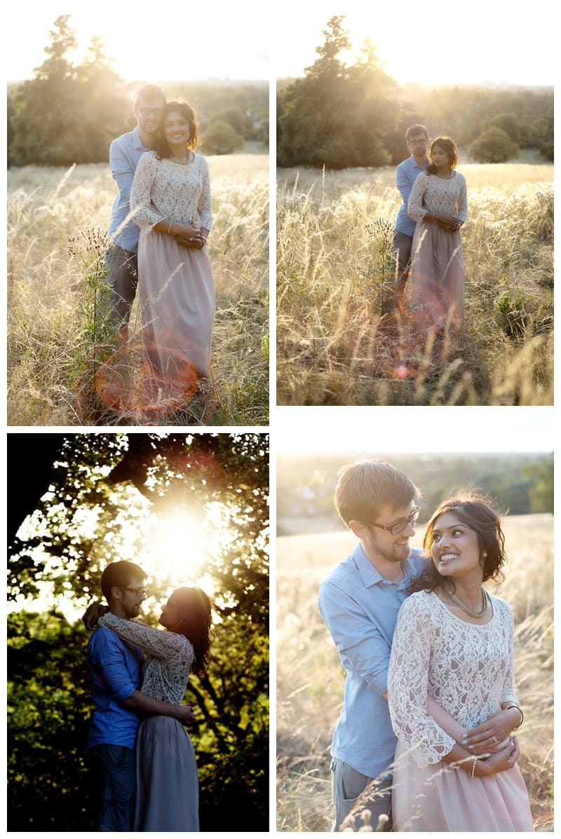 Nisha & Jamie, Richmond Park Engagement Photoshoot, Benjamin Wetherall Photography0003