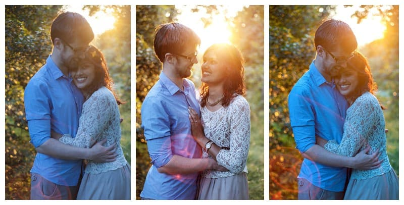 Nisha & Jamie, Richmond Park Engagement Photoshoot, Benjamin Wetherall Photography0005