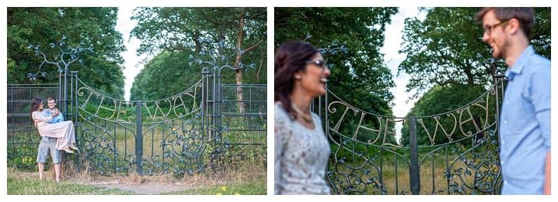 Nisha & Jamie, Richmond Park Engagement Photoshoot, Benjamin Wetherall Photography0007