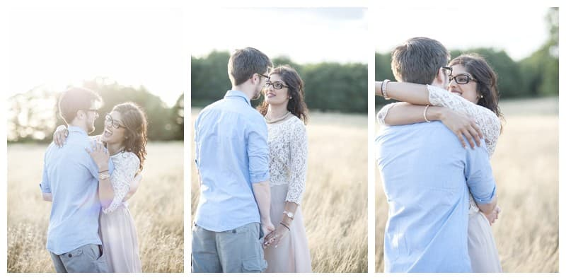 Nisha & Jamie, Richmond Park Engagement Photoshoot, Benjamin Wetherall Photography0008