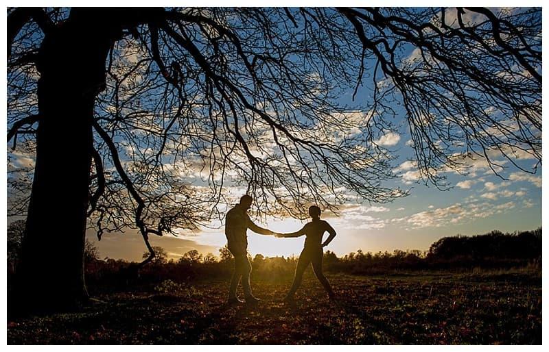 Sheyi & Simon Engagement Photoshoot, Bushy Park, London, Benjamin Wetherall Photography0009