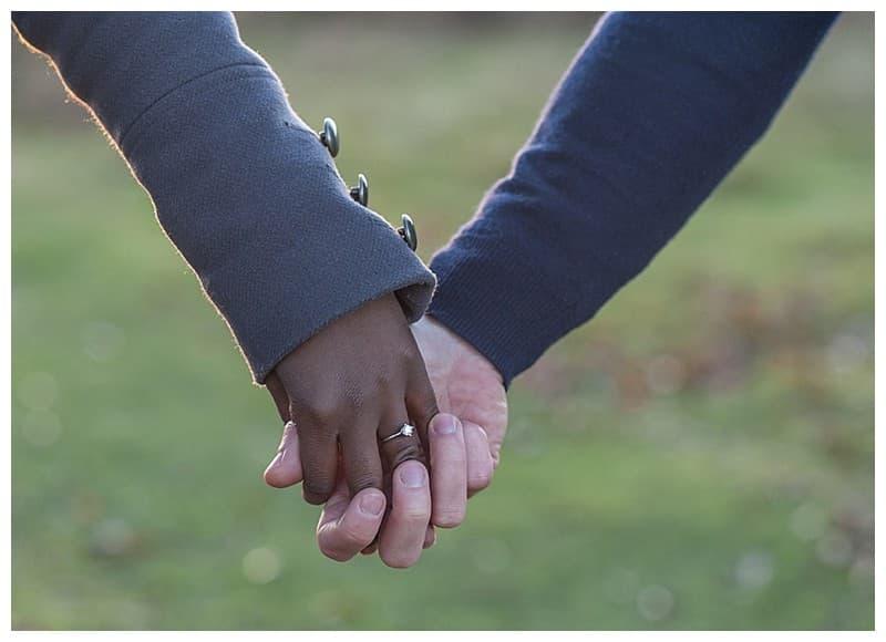 Sheyi & Simon Engagement Photoshoot, Bushy Park, London, Benjamin Wetherall Photography0016
