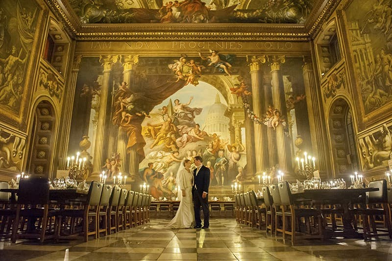 Old Royal Naval Academy Wedding, Greenwich, London. Benjamin Wetherall Photography0001