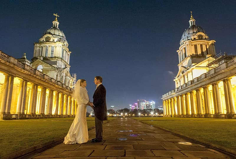 Old Royal Naval Academy Wedding, Greenwich, London. Benjamin Wetherall Photography0002