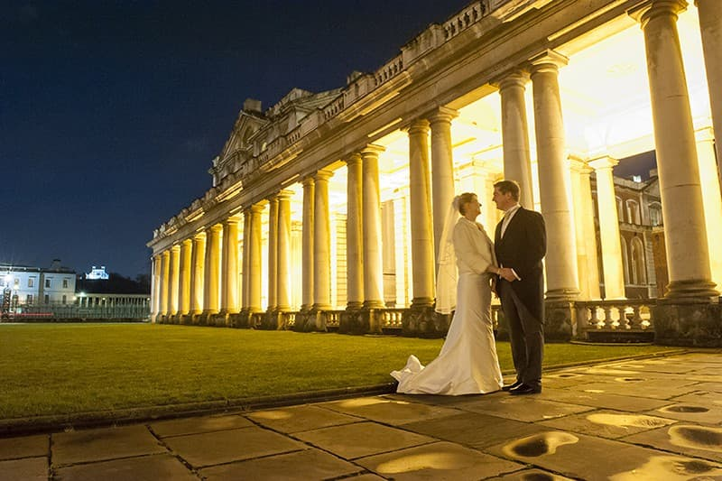 Old Royal Naval Academy Wedding, Greenwich, London. Benjamin Wetherall Photography0005