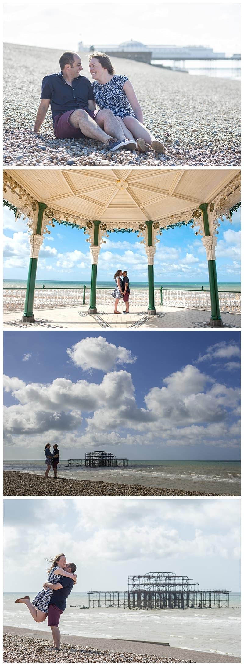 Becca&Fil, Brighton Engagement Photoshoot, Benjamin Wetherall Photography0003.jpg