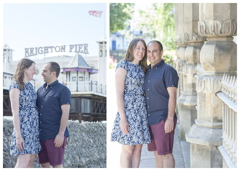 Becca&Fil, Brighton Engagement Photoshoot, Benjamin Wetherall Photography0005