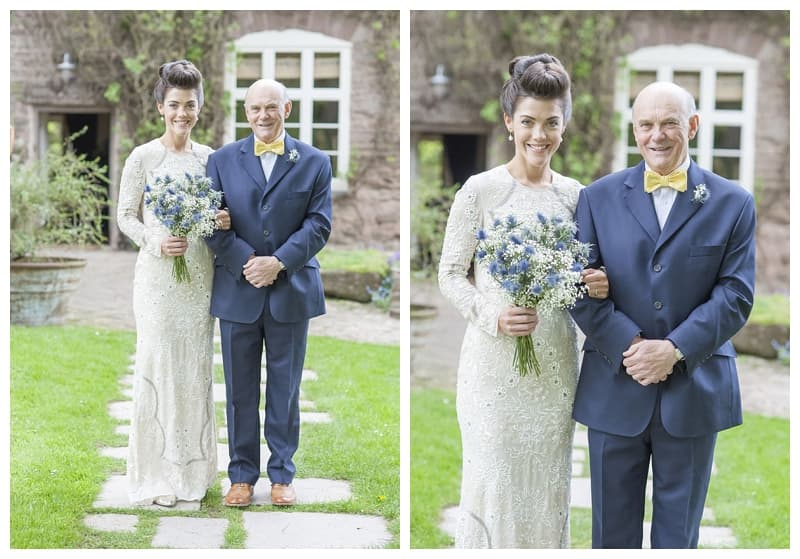 Dewsall Court Wedding, Fran & Alex, Herefordshire Wedding - Benjamin Wetherall Photography ©0049