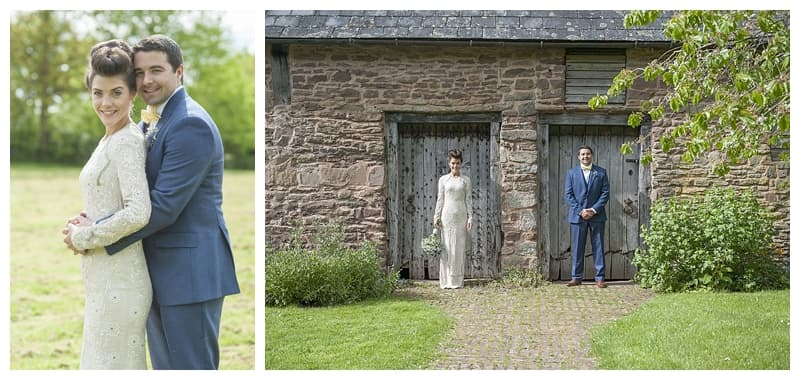 Dewsall Court Wedding, Fran & Alex, Herefordshire Wedding - Benjamin Wetherall Photography ©0088