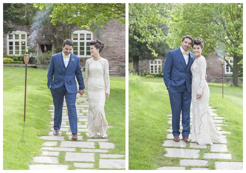 Dewsall Court Wedding, Fran & Alex, Herefordshire Wedding - Benjamin Wetherall Photography ©0093
