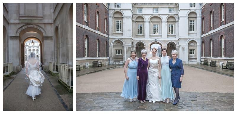 Royal Naval College Greenwich Wedding, Steve & Lisa, London Winter Wedding - Benjamin Wetherall Photography ©0001