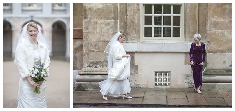 Royal Naval College Greenwich Wedding, Steve & Lisa, London Winter Wedding - Benjamin Wetherall Photography ©0003