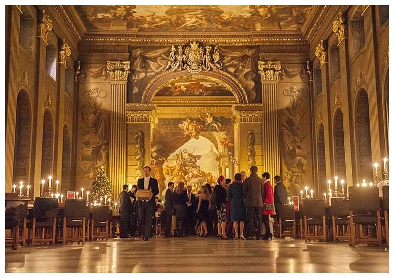 Royal Naval College Greenwich Wedding, Steve & Lisa, London Winter Wedding - Benjamin Wetherall Photography ©0006