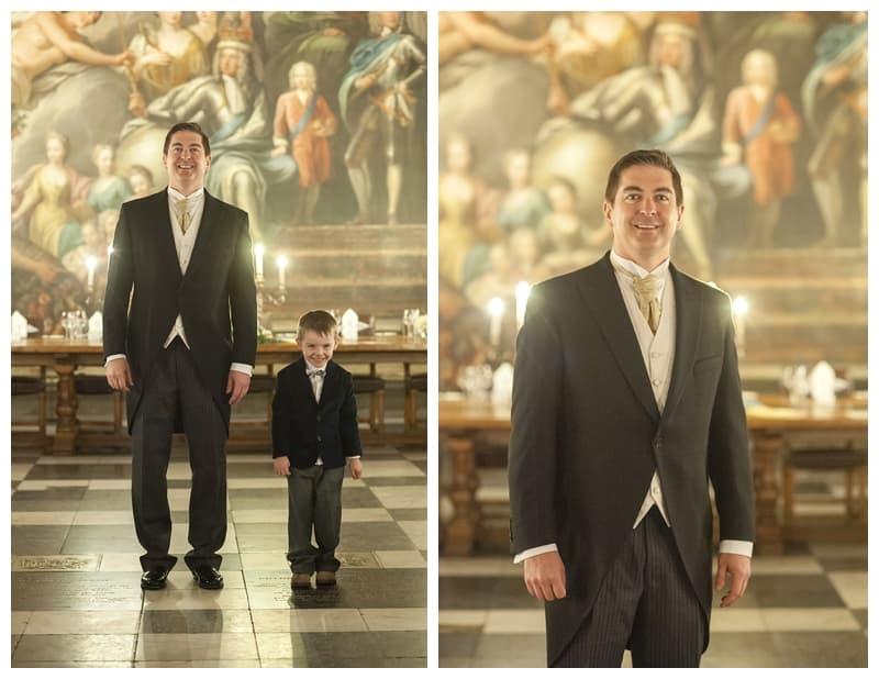 Royal Naval College Greenwich Wedding, Steve & Lisa, London Winter Wedding - Benjamin Wetherall Photography ©0007