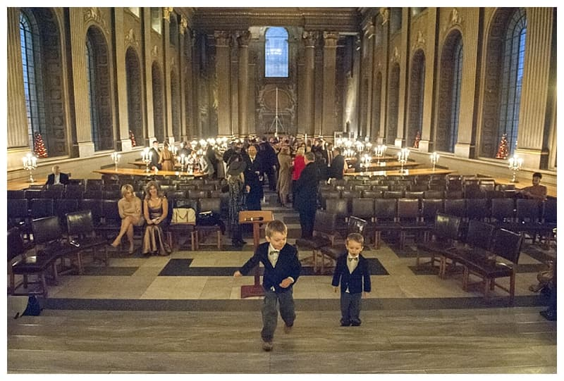 Royal Naval College Greenwich Wedding, Steve & Lisa, London Winter Wedding - Benjamin Wetherall Photography ©0008
