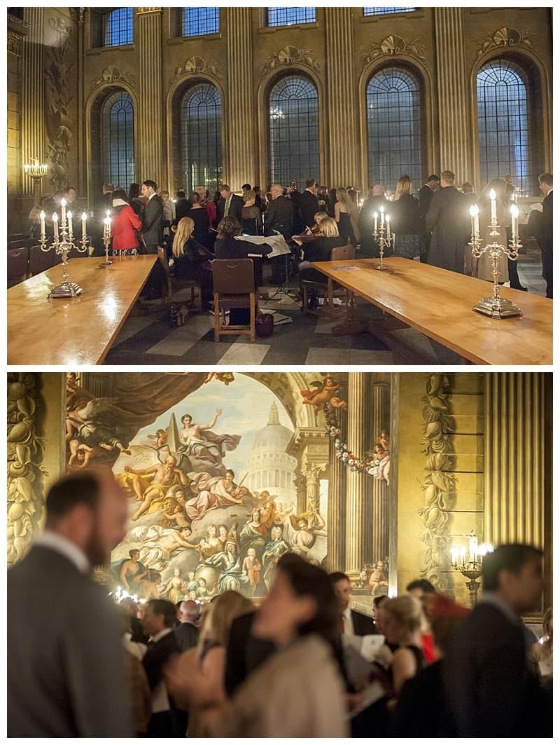 Royal Naval College Greenwich Wedding, Steve & Lisa, London Winter Wedding - Benjamin Wetherall Photography ©0010