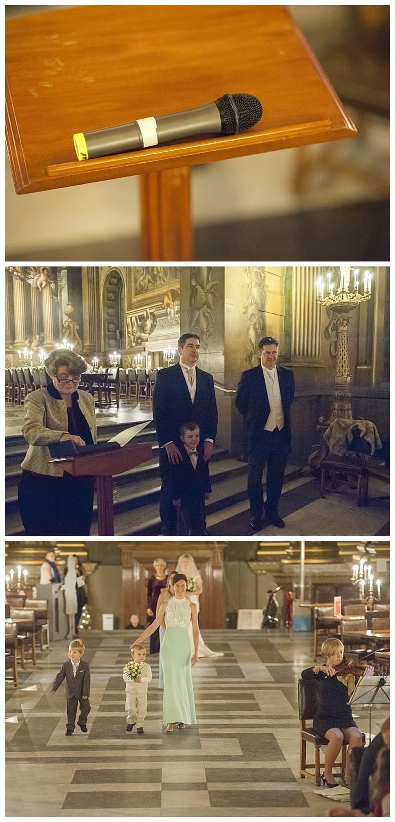 Royal Naval College Greenwich Wedding, Steve & Lisa, London Winter Wedding - Benjamin Wetherall Photography ©0013