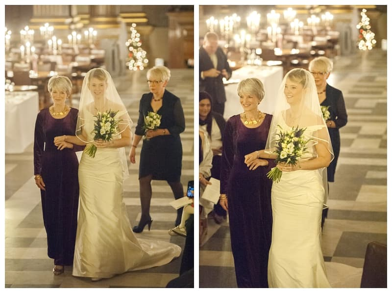 Royal Naval College Greenwich Wedding, Steve & Lisa, London Winter Wedding - Benjamin Wetherall Photography ©0014