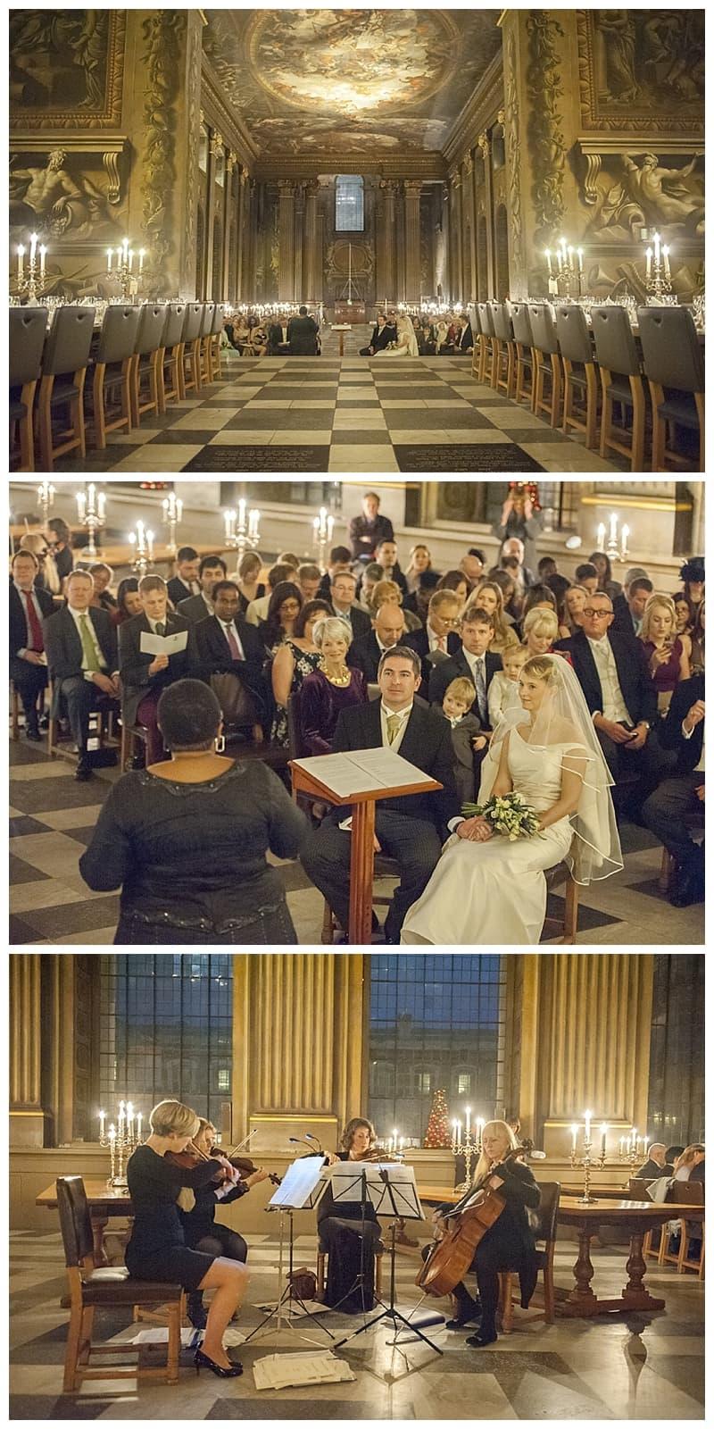 Royal Naval College Greenwich Wedding, Steve & Lisa, London Winter Wedding - Benjamin Wetherall Photography ©0017