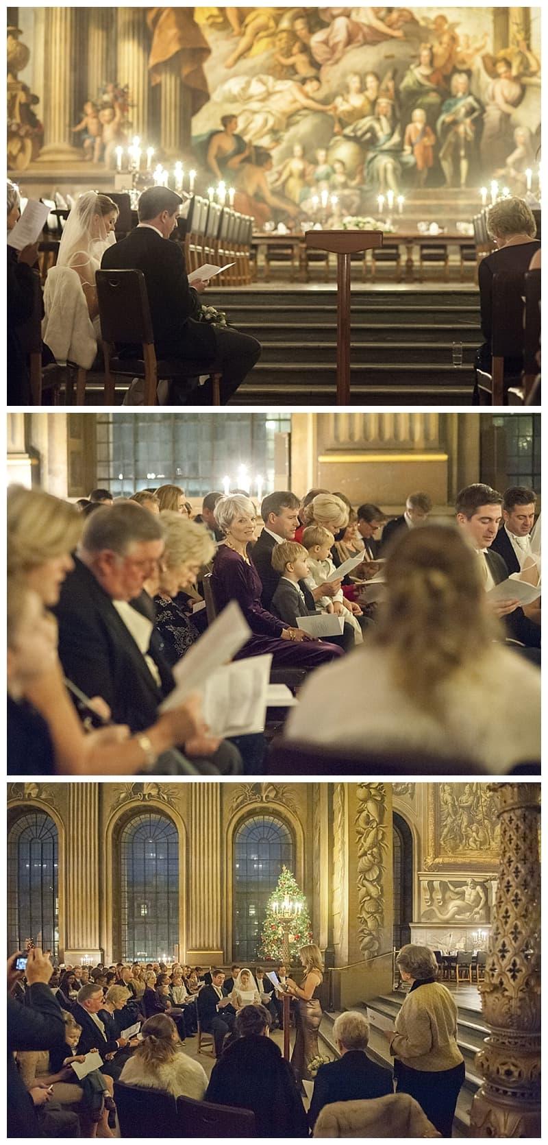 Royal Naval College Greenwich Wedding, Steve & Lisa, London Winter Wedding - Benjamin Wetherall Photography ©0019