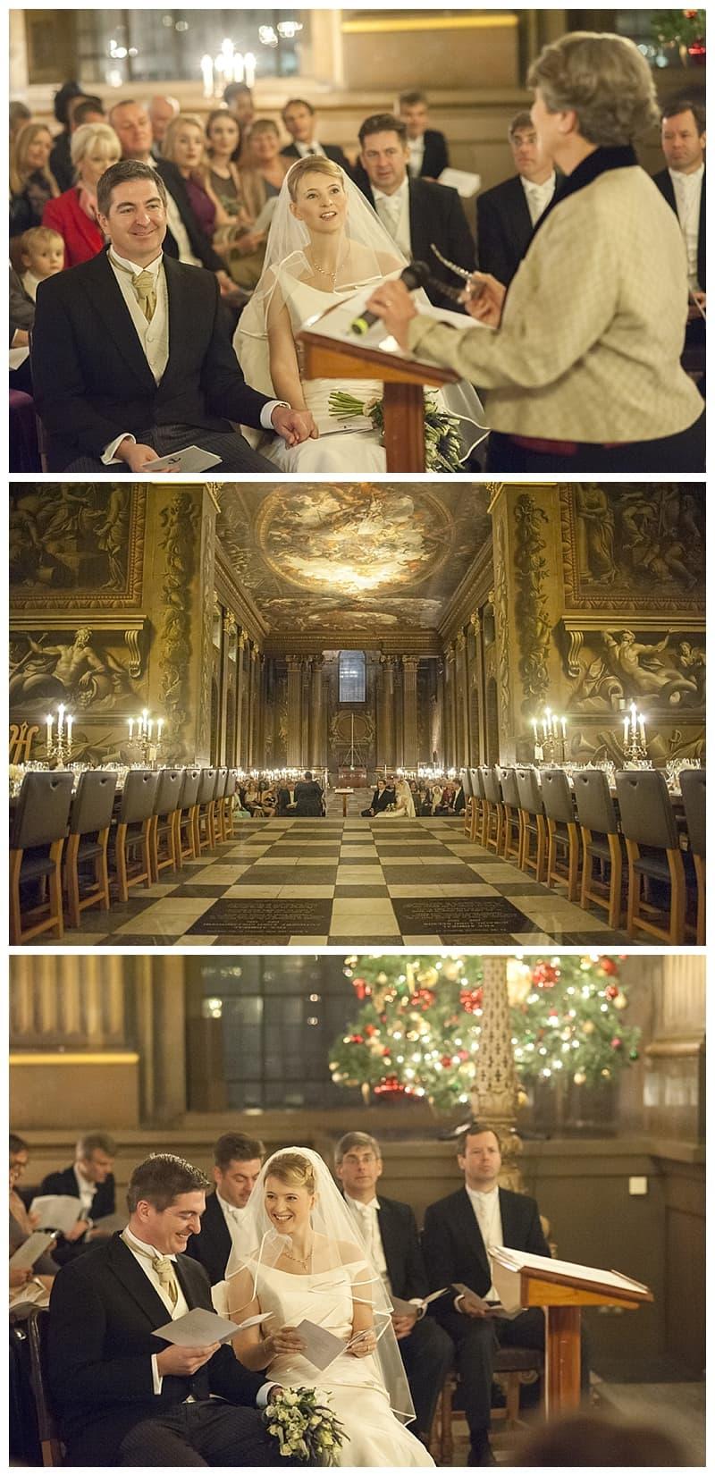 Royal Naval College Greenwich Wedding, Steve & Lisa, London Winter Wedding - Benjamin Wetherall Photography ©0022