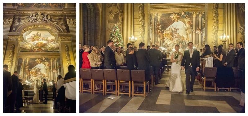 Royal Naval College Greenwich Wedding, Steve & Lisa, London Winter Wedding - Benjamin Wetherall Photography ©0029