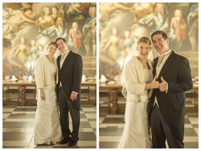 Royal Naval College Greenwich Wedding, Steve & Lisa, London Winter Wedding - Benjamin Wetherall Photography ©0031