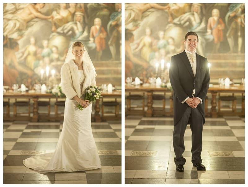 Royal Naval College Greenwich Wedding, Steve & Lisa, London Winter Wedding - Benjamin Wetherall Photography ©0033