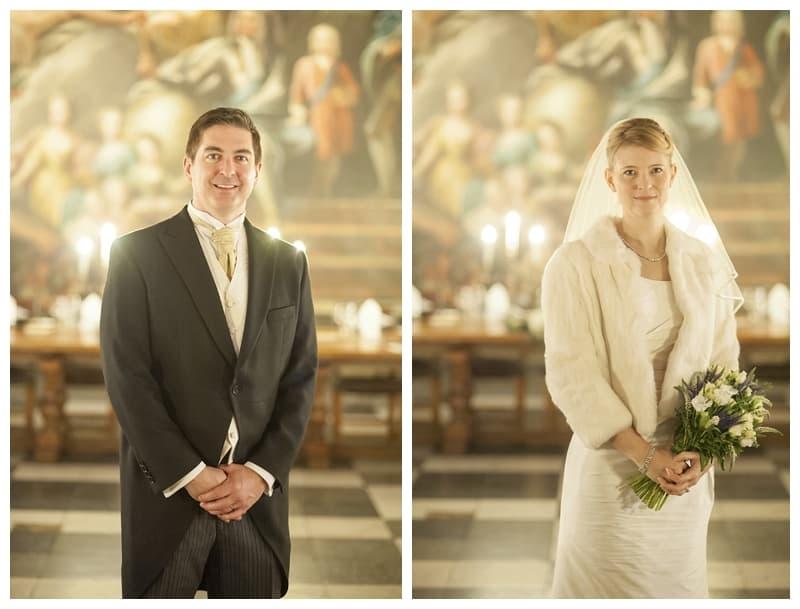 Royal Naval College Greenwich Wedding, Steve & Lisa, London Winter Wedding - Benjamin Wetherall Photography ©0034