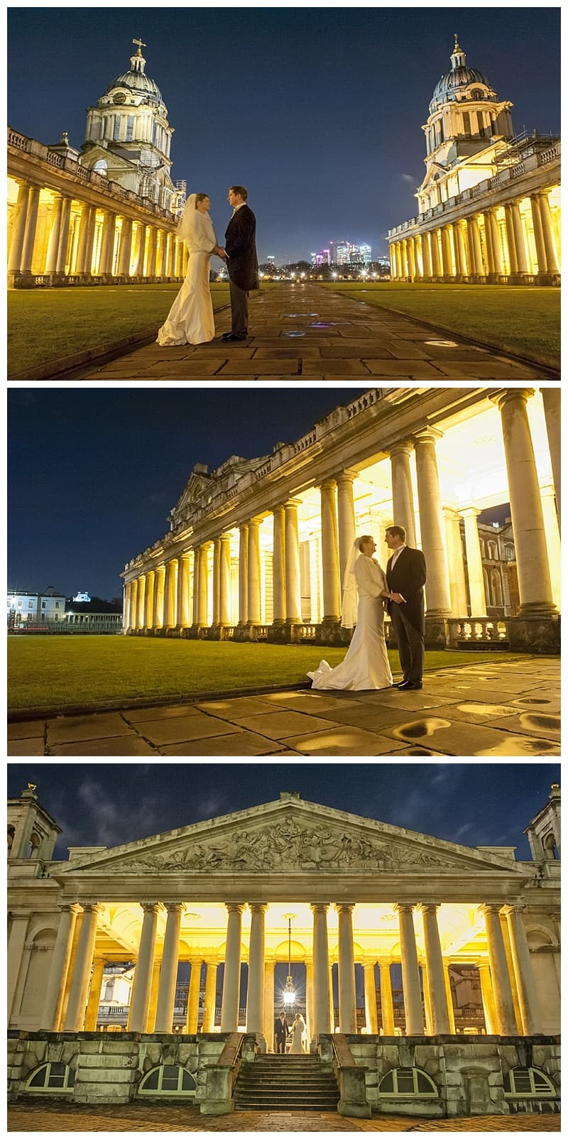 Royal Naval College Greenwich Wedding, Steve & Lisa, London Winter Wedding - Benjamin Wetherall Photography ©0035