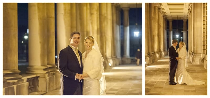 Royal Naval College Greenwich Wedding, Steve & Lisa, London Winter Wedding - Benjamin Wetherall Photography ©0036